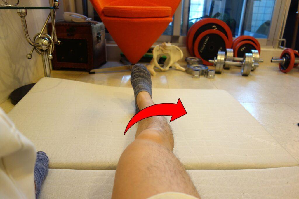 膝関節の捻れ